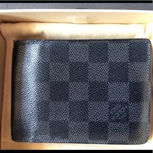 Other - Louis Vuttion Wallet Black